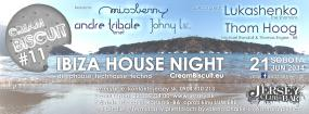 Cream Biscuit #11 - Ibiza House Night - Jersey Club & Bar - Bratislava