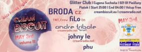 Cream Biscuit #3 - Ibiza House Night - Glitter Club - Piešťany