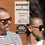 Terrace Party Missberry & Andre Tribale - Regal Terasa - Piešťany