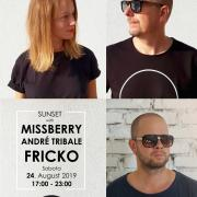 Sunset with Missberry & Andre Tribale & Fricko [fricko brothers] - Regal Terasa - Piešťany